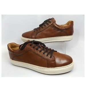 Brown leather 14th & Union shoes